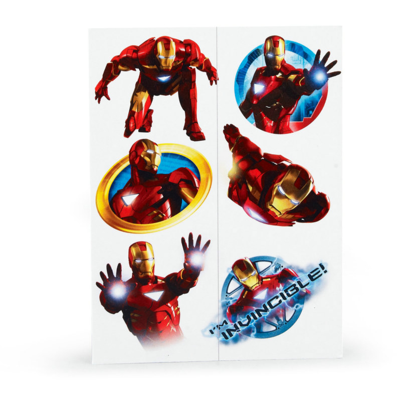 Iron Man 2 Tattoos (2 sheets)