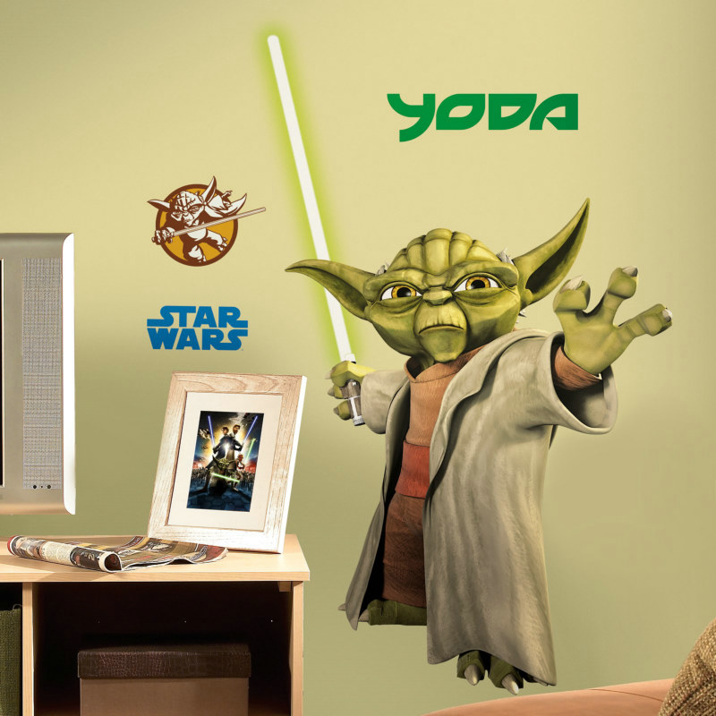 Yoda Removable Wall Decorations