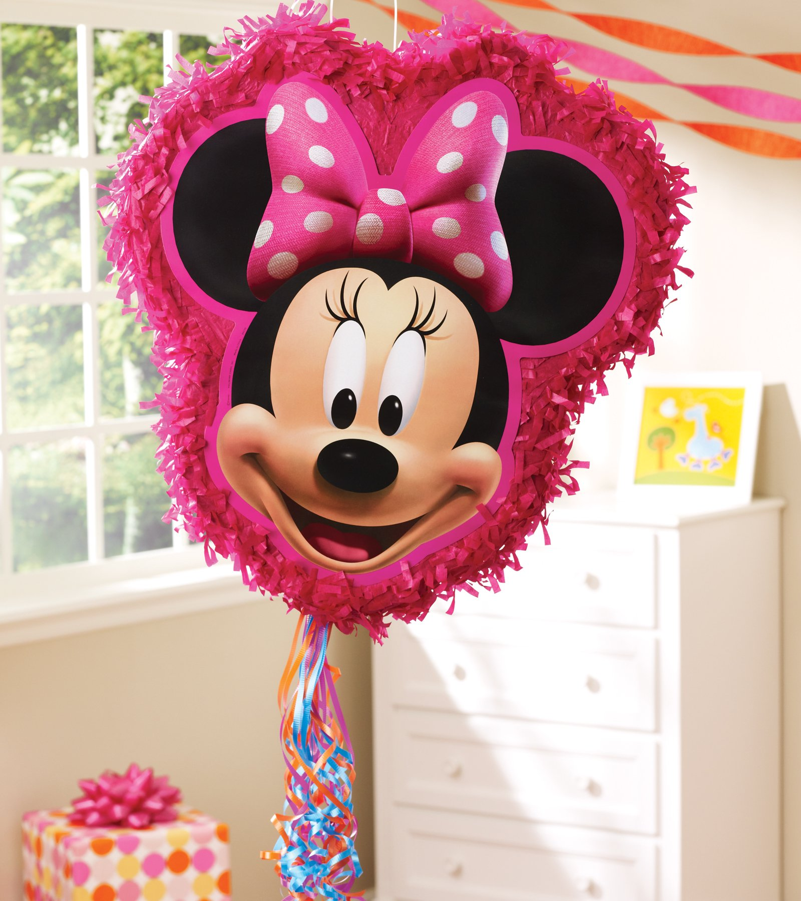 "Minnie Mouse 18"" Pull String Pinata"