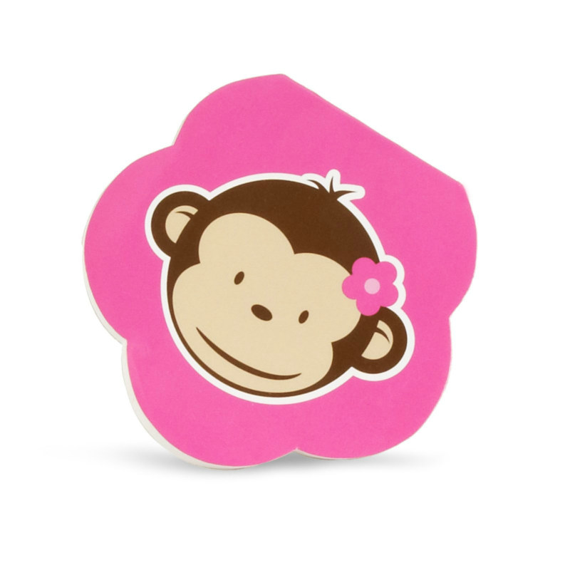 Pink Mod Monkey Notepads (8 count)