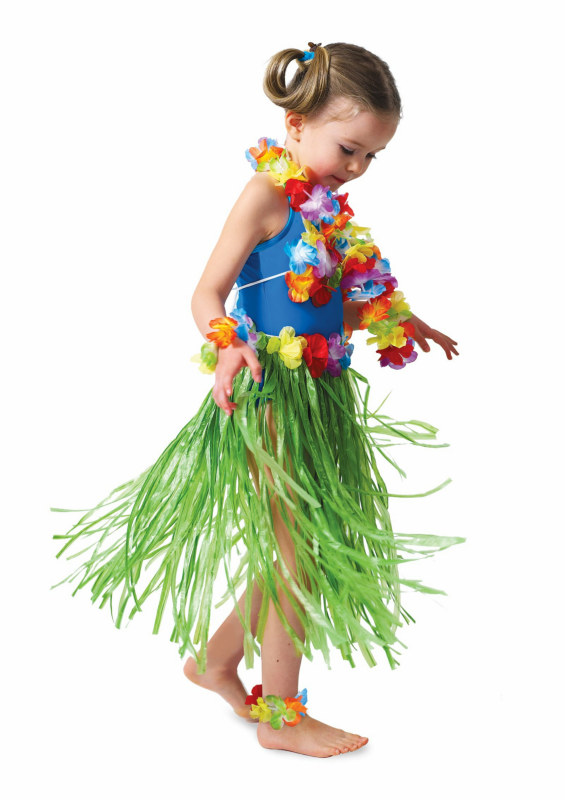 Hula Child Skirt Set