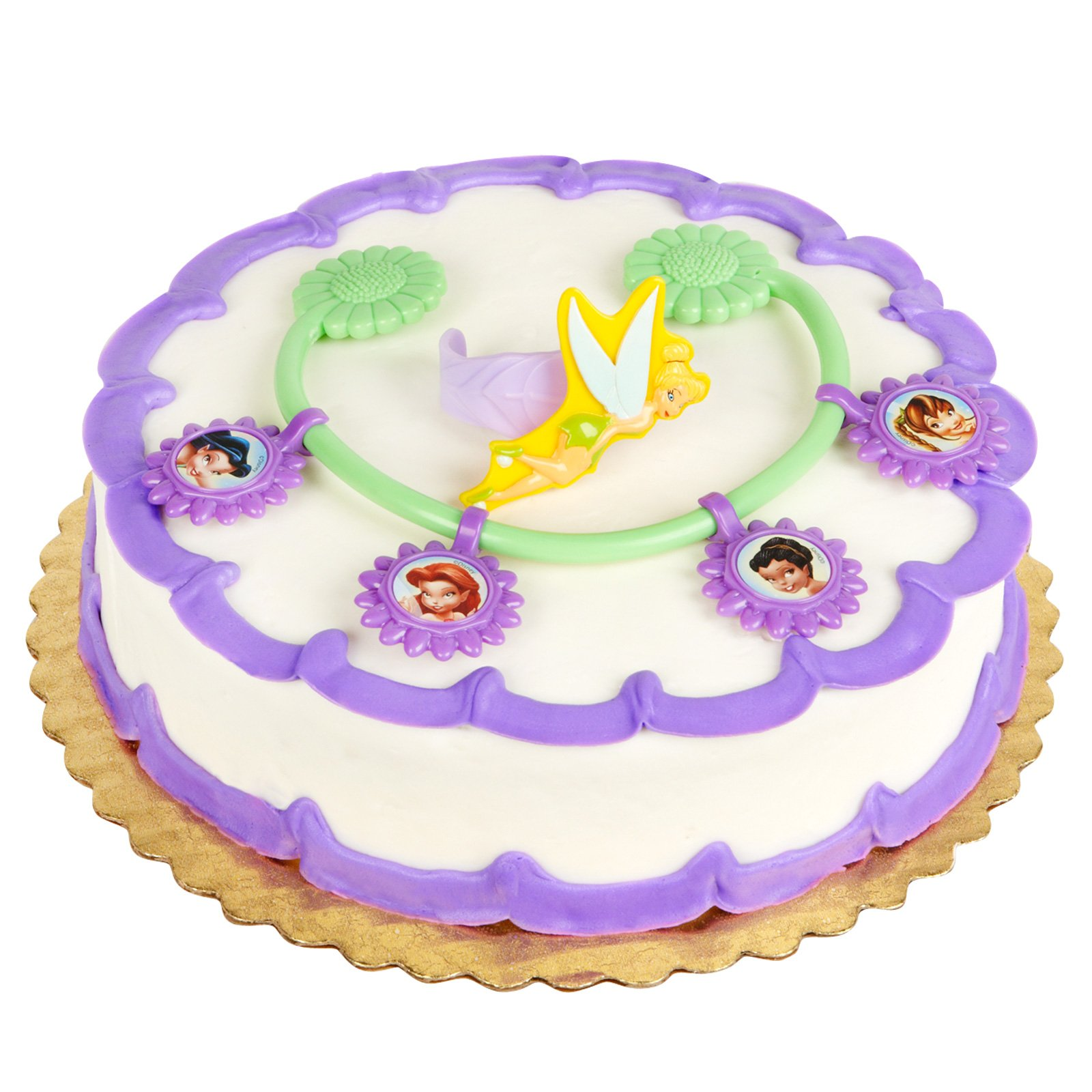 Tinker Bell and Fairy Friends Cake Topper