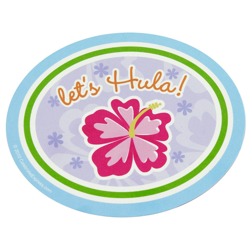 Hawaiian Girl Sticker Sheets (4 count)