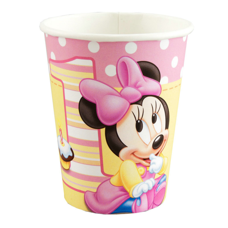 Minnie's 1st Birthday 9 oz. Cups (8 count)