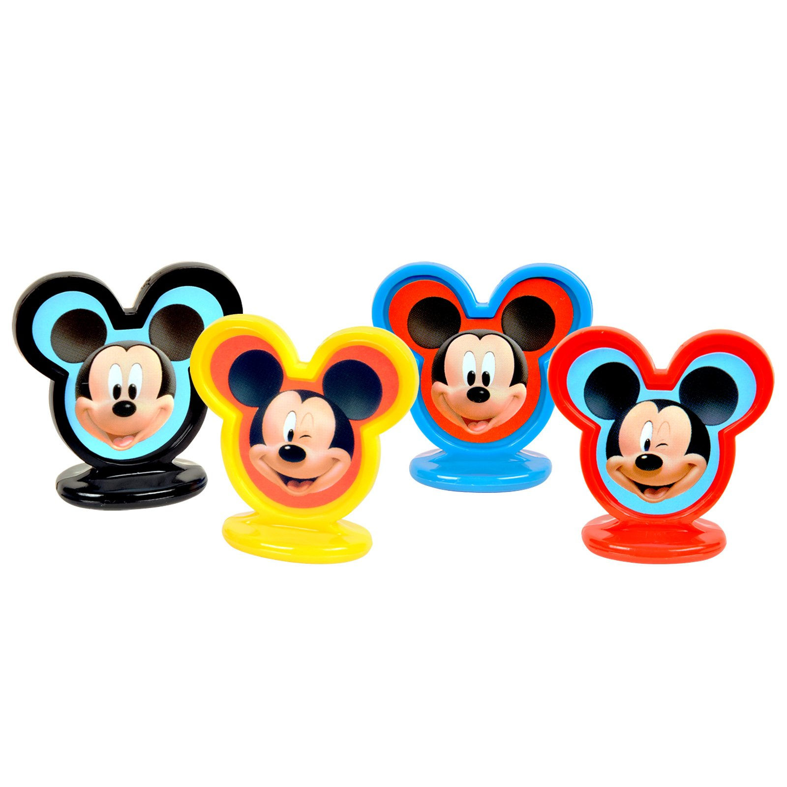 Mickey Mouse Cake Toppers (8 count)