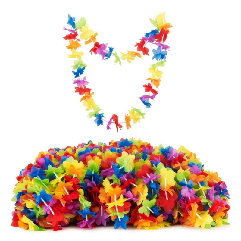 Всё для гавайской вечеринки детям своими руками 112