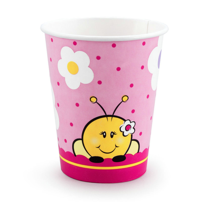 Sweet-As-Can-Bee 9 oz. Cups (8 count)