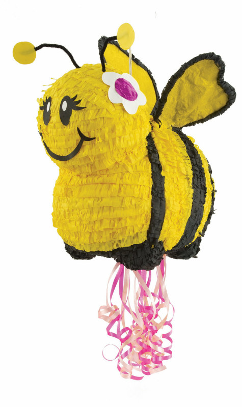 "Bee 20"" Pull-String Pinata"