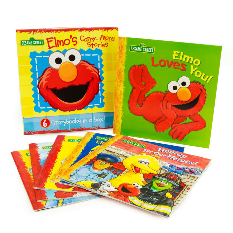 Sesame Street Elmo Book Set Asst. (6 count)