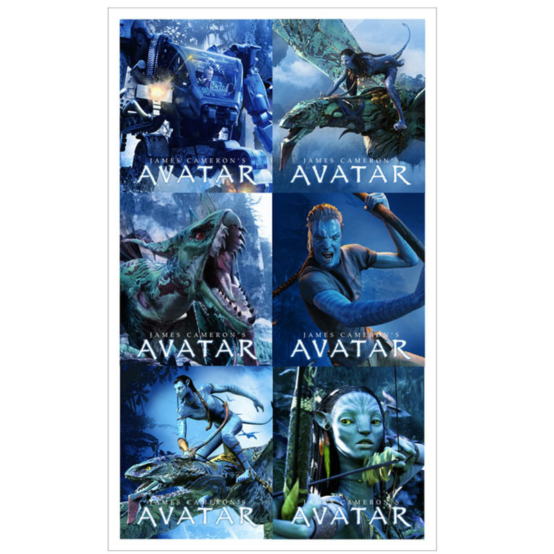 Avatar Movie Stickers (4 sheets)