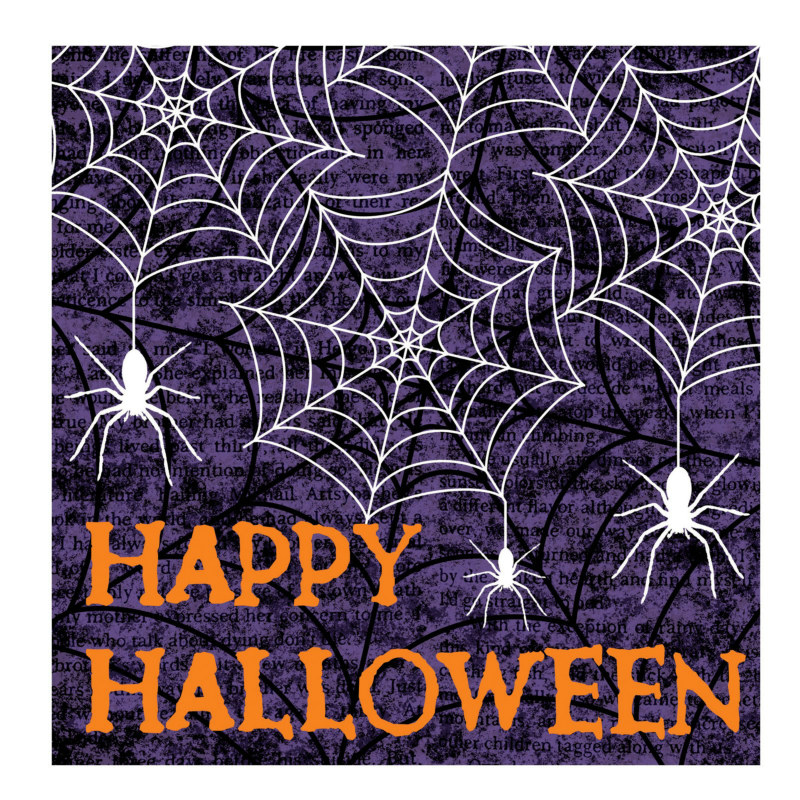 Creepy Webs Lunch Napkins (18 count)