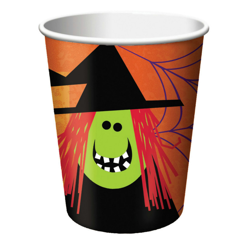 Halloween Fun Friends 9 oz. Paper Cups (8 count)