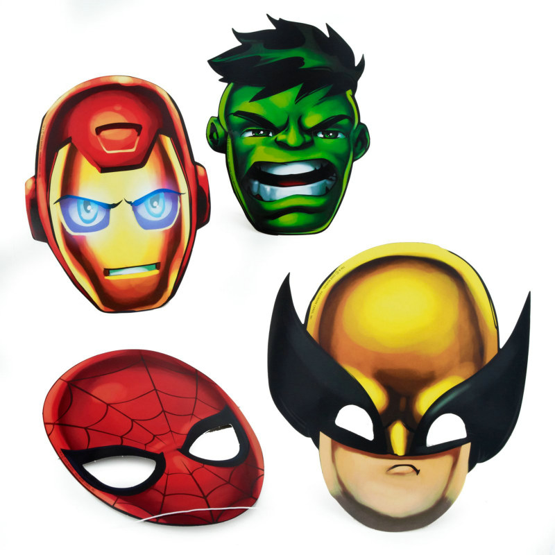 Marvel Super Hero Squad Assorted Masks (8 count)