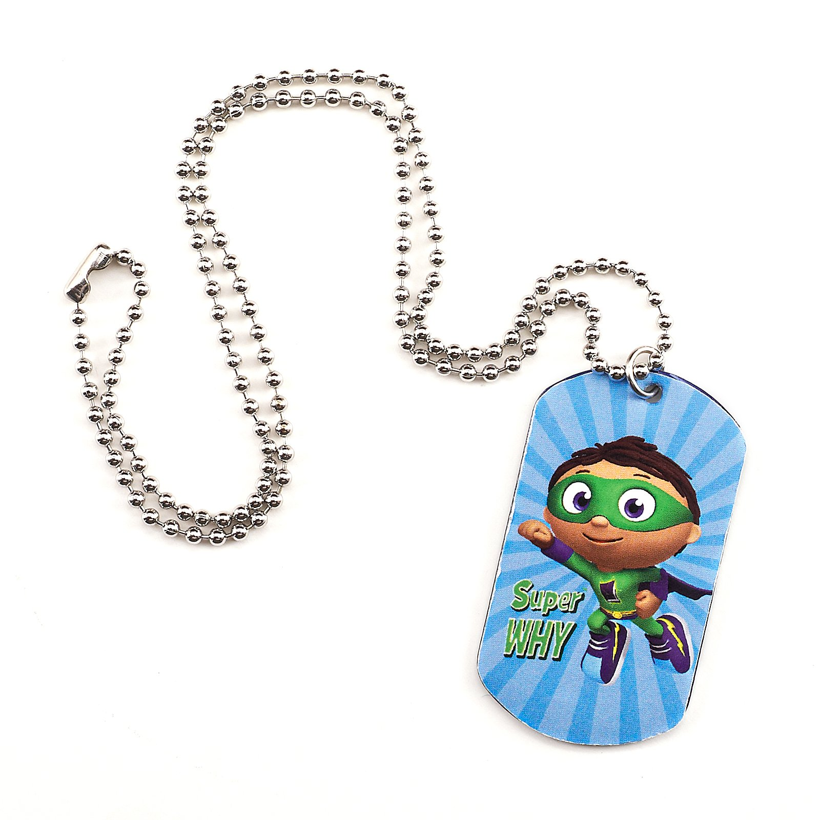Super Why! Dogtag Necklace