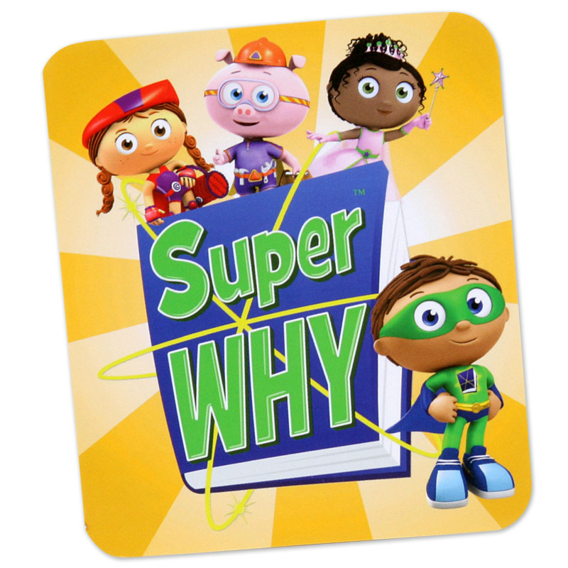 Super Why! Notepads (8 count)