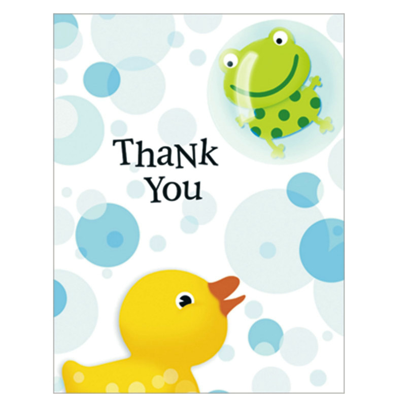 Splish Splash Thank You Cards (8 count)