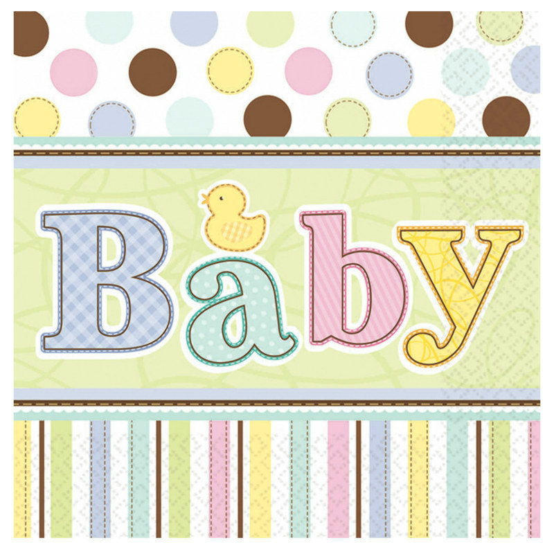 Tiny Bundle Lunch Napkins (36 count)