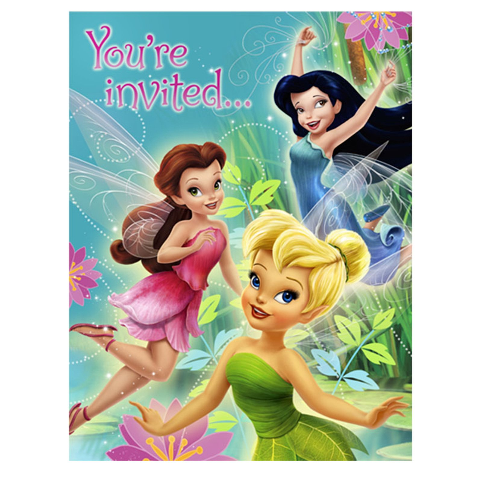 Disney's Fairies Invitations (8 count)