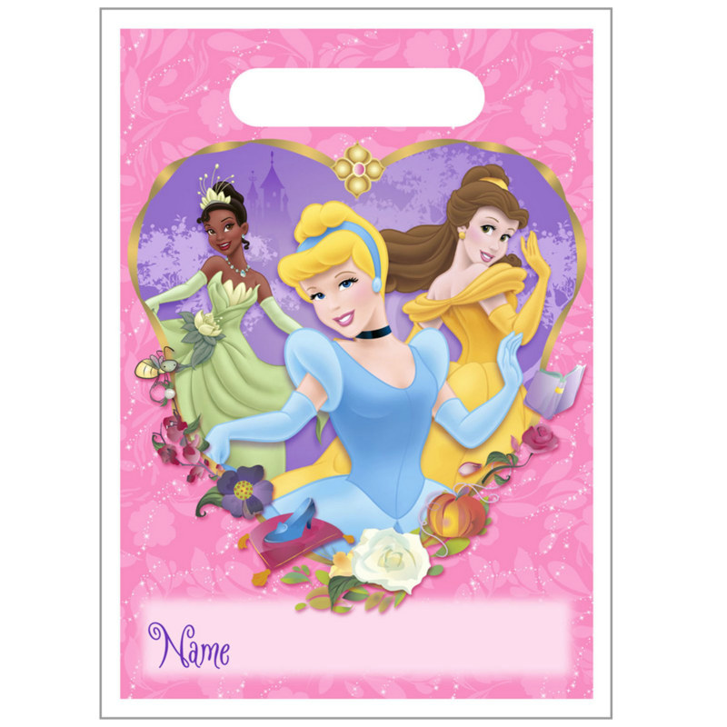 Fairy Tale Princess Treat Bags (8 count)