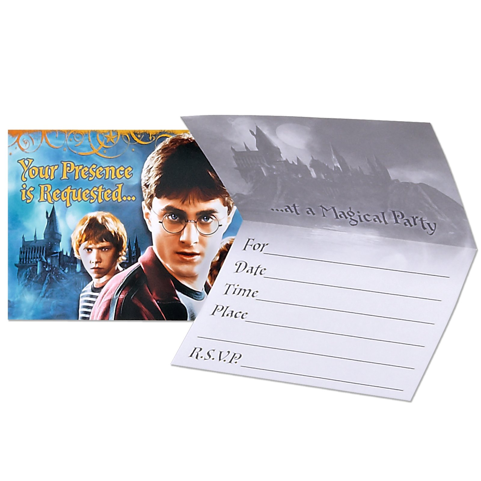 Harry Potter Deathly Hallows Invitations (8 count)