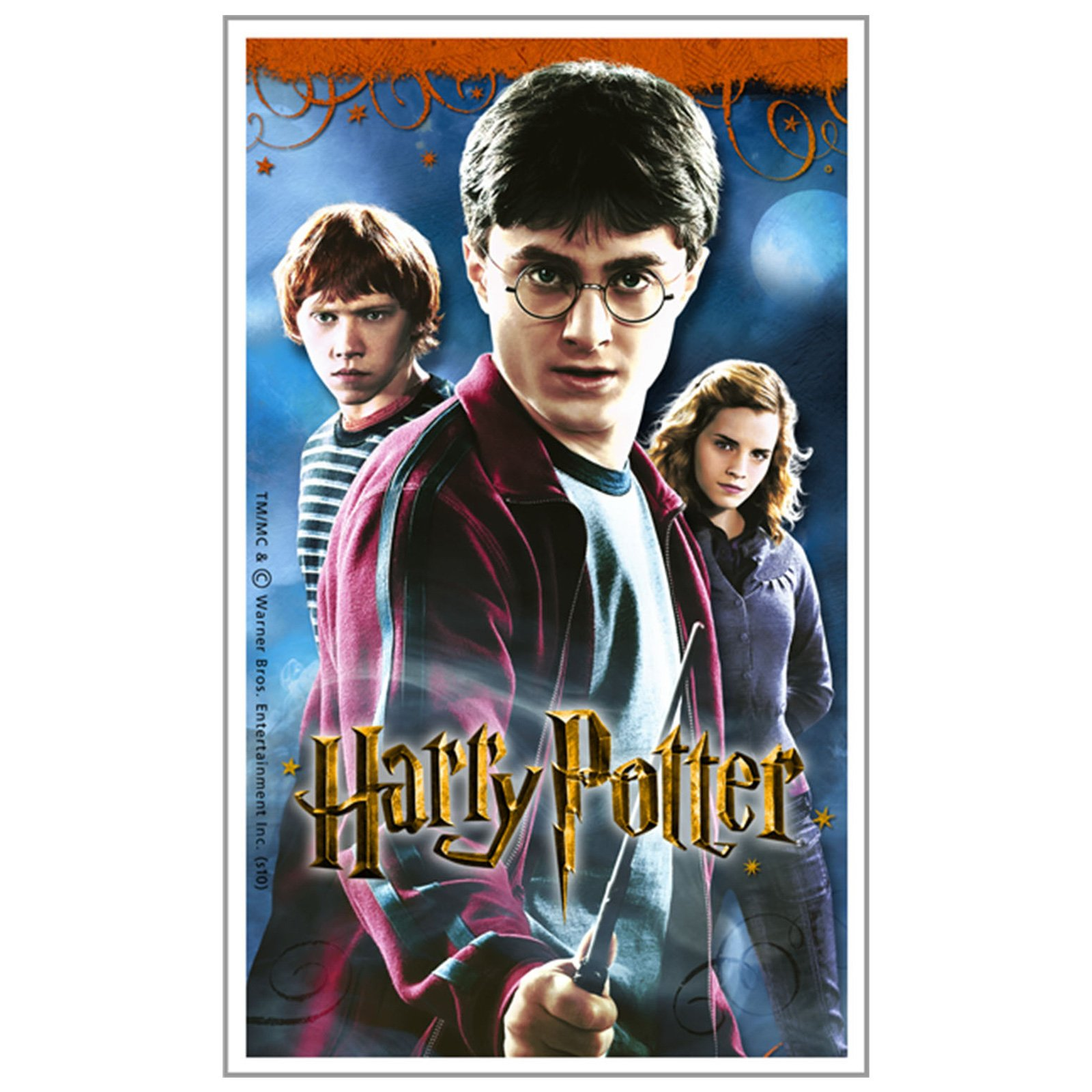 Harry Potter Deathly Hallows Stickers (4 count)