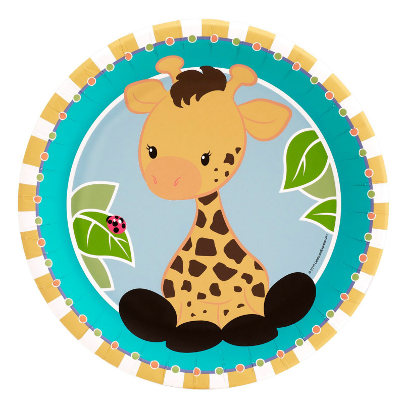 Giraffe Dinner Plates (8 count)