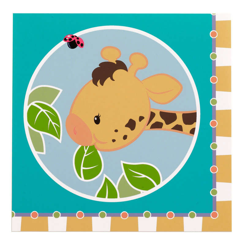 Giraffe Lunch Napkins (16 count)