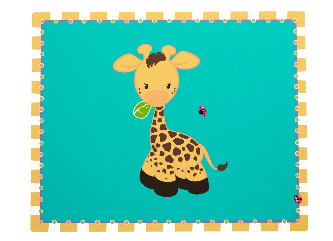 Giraffe Activity Placemats (4 count)