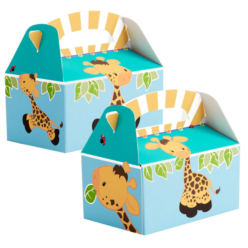 Giraffe Empty Favor Boxes (4 count)