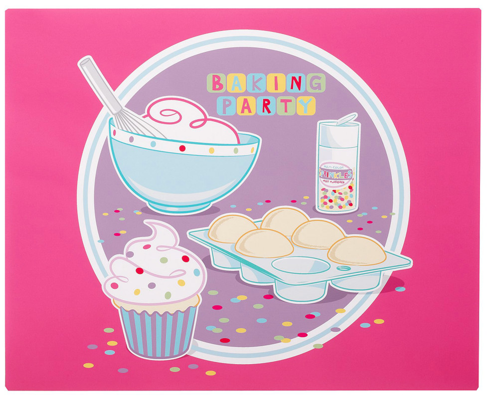 Baking Bash Activity Placemats (4 count)