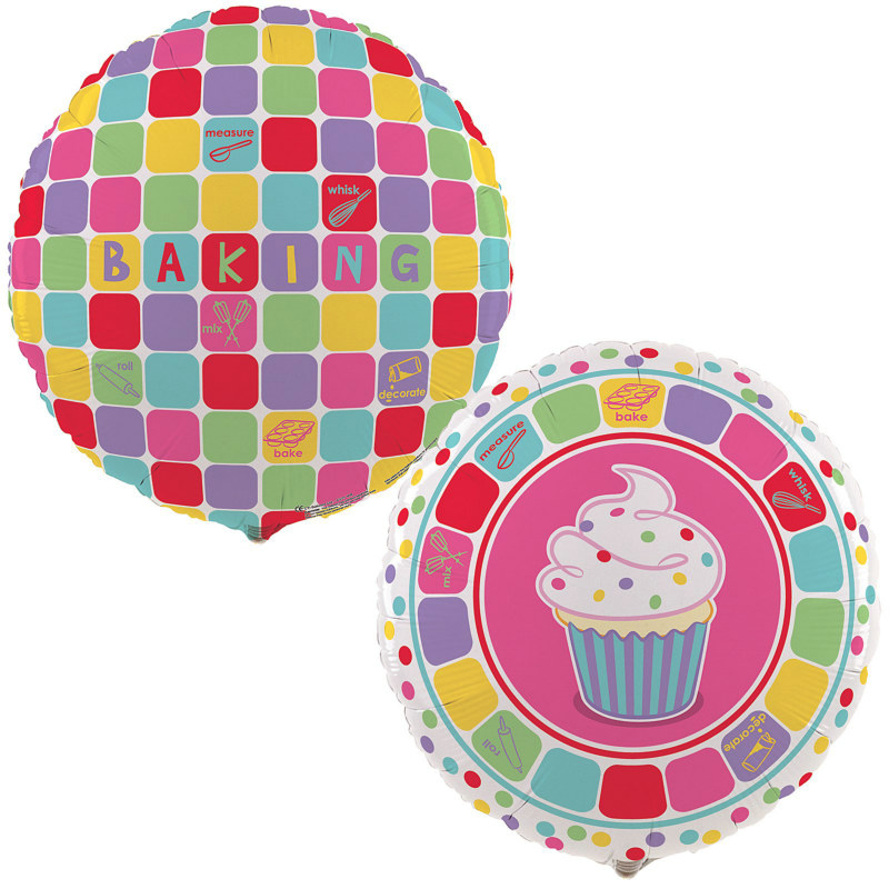 "Baking Bash 18"" Foil Balloon"