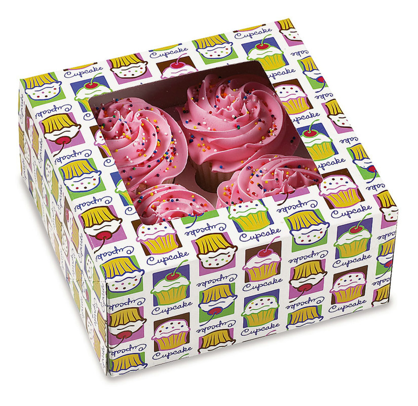 Cupcake Boxes (3 count)