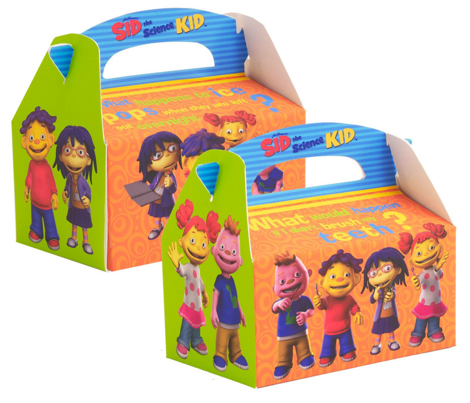 Sid the Science Kid Empty Favor Boxes (4 count)