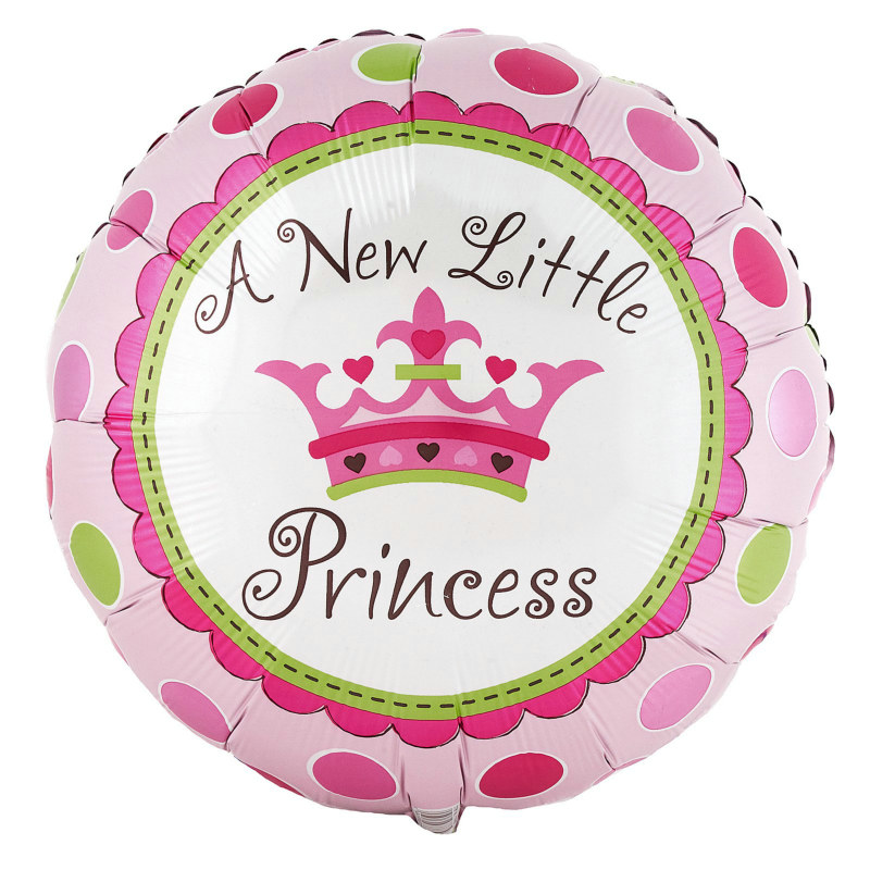 "A New Little Princess 18"" Foil Balloon"
