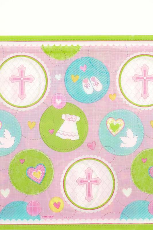Sweet Blessing Pink Tablecover