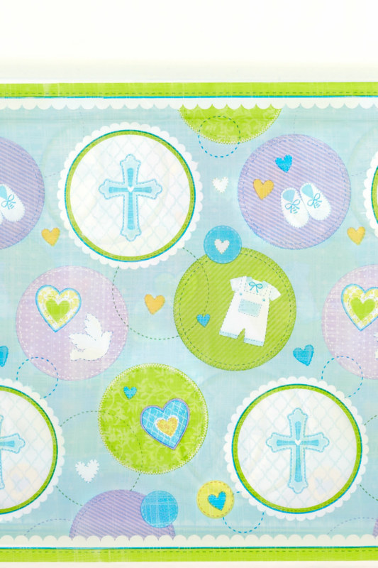 Sweet Blessing Blue Tablecover