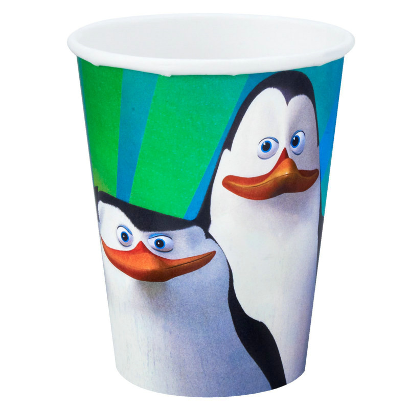 Penguins of Madagascar 9 oz. Cups (8 count)