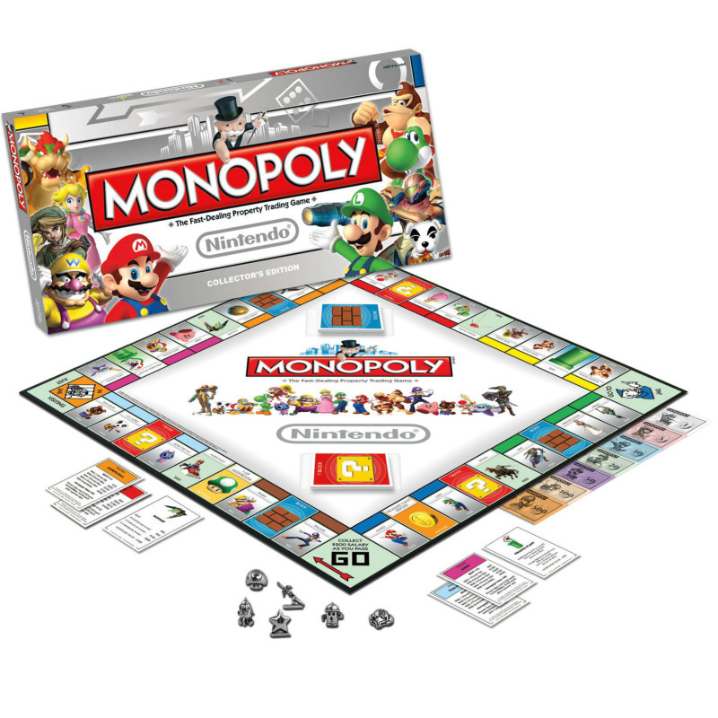 Nintendo Monopoly Game Collector's Edition