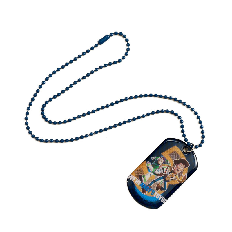 Toy Story Dog Tag Necklace (1 count)