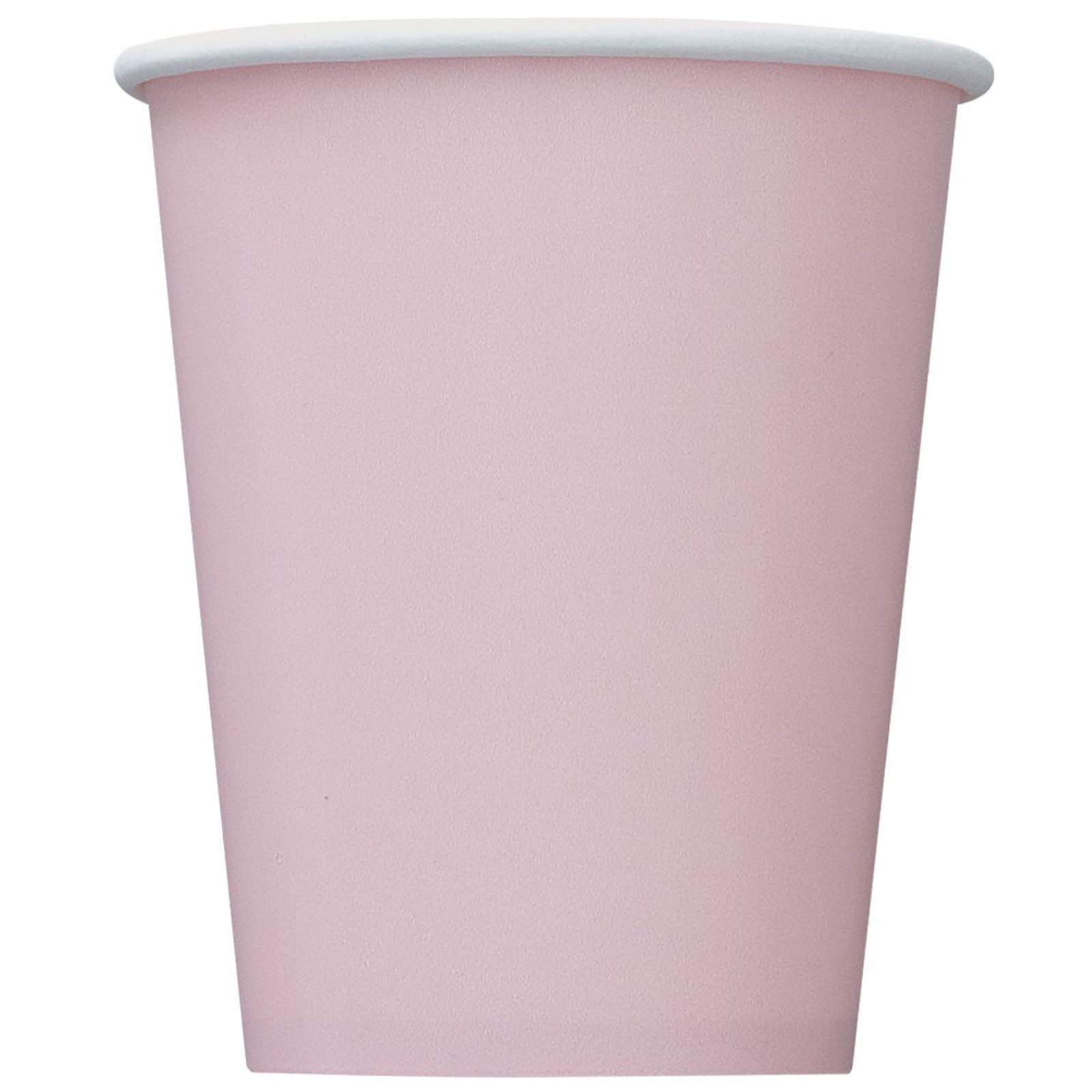 Pastel Pink 9 oz. Paper Cups (8 count)