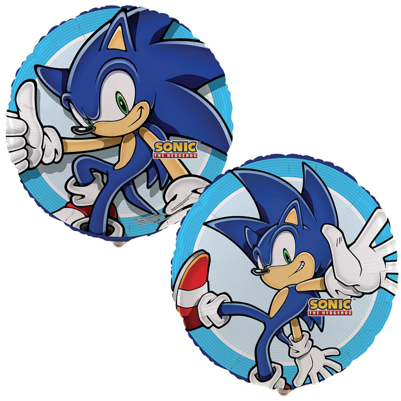 "Sonic the Hedgehog 18"" Foil Balloon"