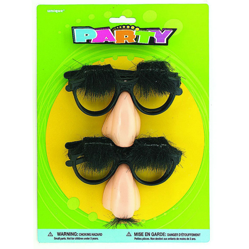 Nose, Glasses and Mustache Sets (4 count)