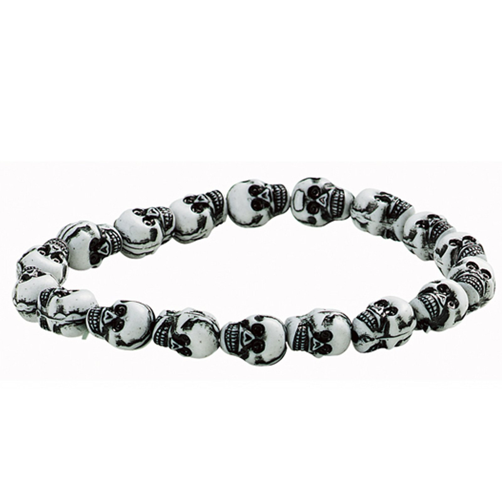 Mini Skull Bracelet (1 count) - Click Image to Close