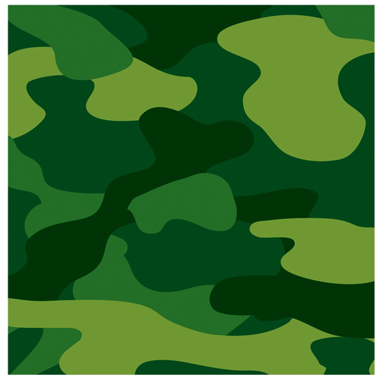 Camo Gear Lunch Napkins (16 count)