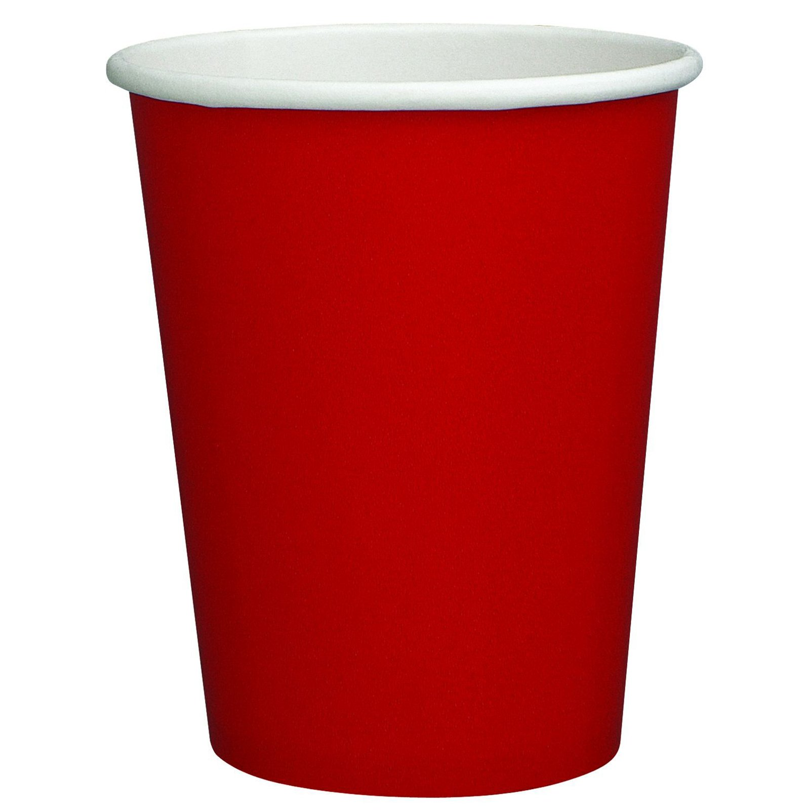 Red 9 oz. Paper Cups (8 count)
