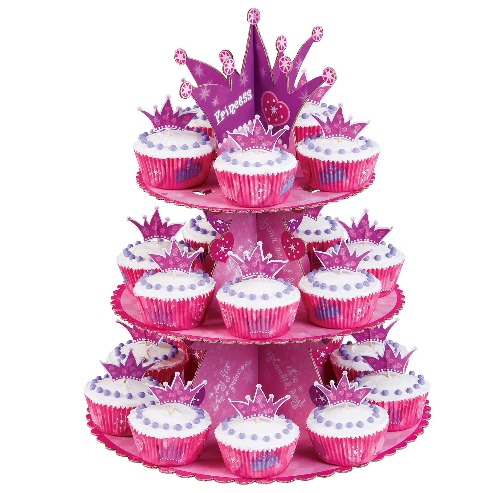 Princess Cupcake Stand Kit