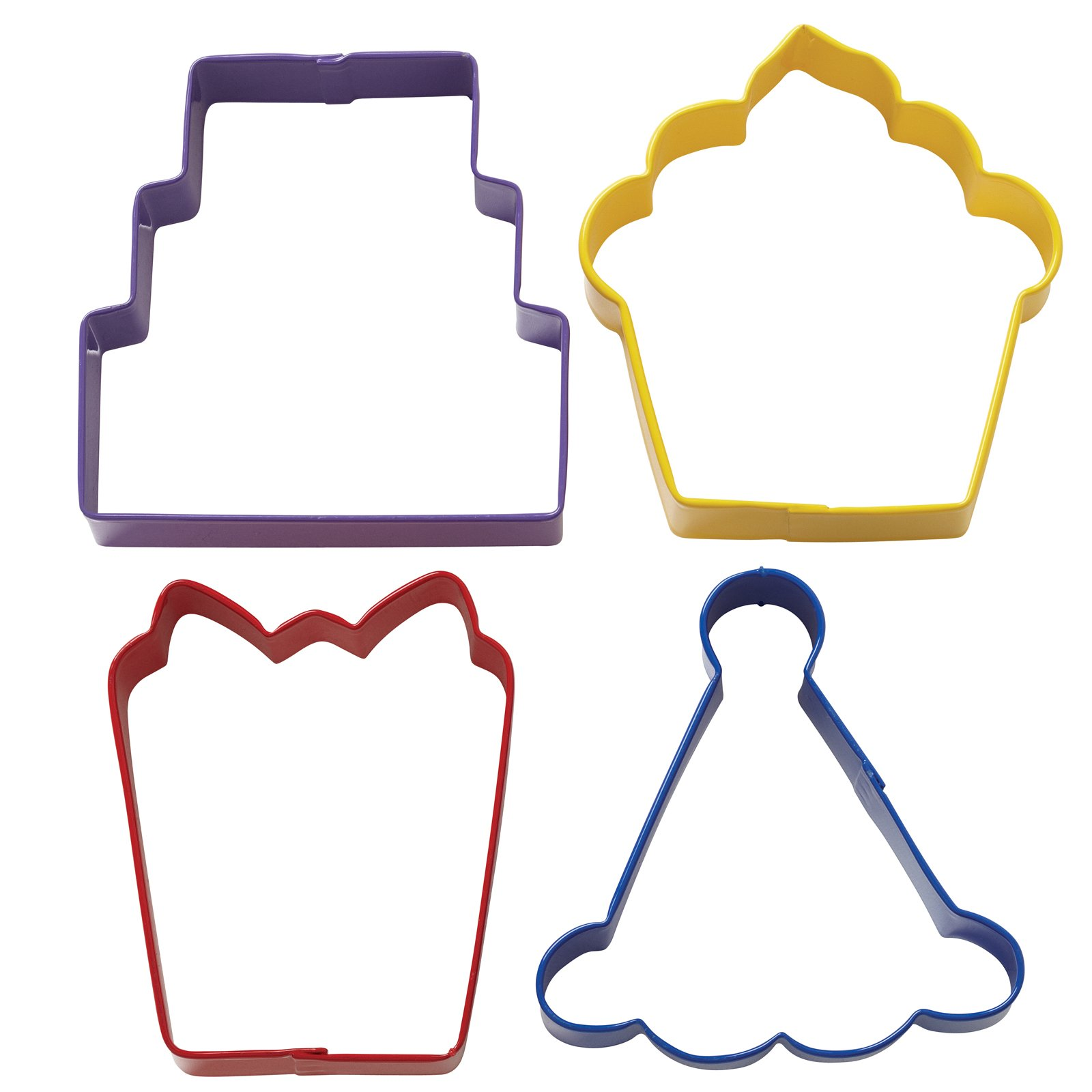 Party Cookie Cutter Set (set of 4)