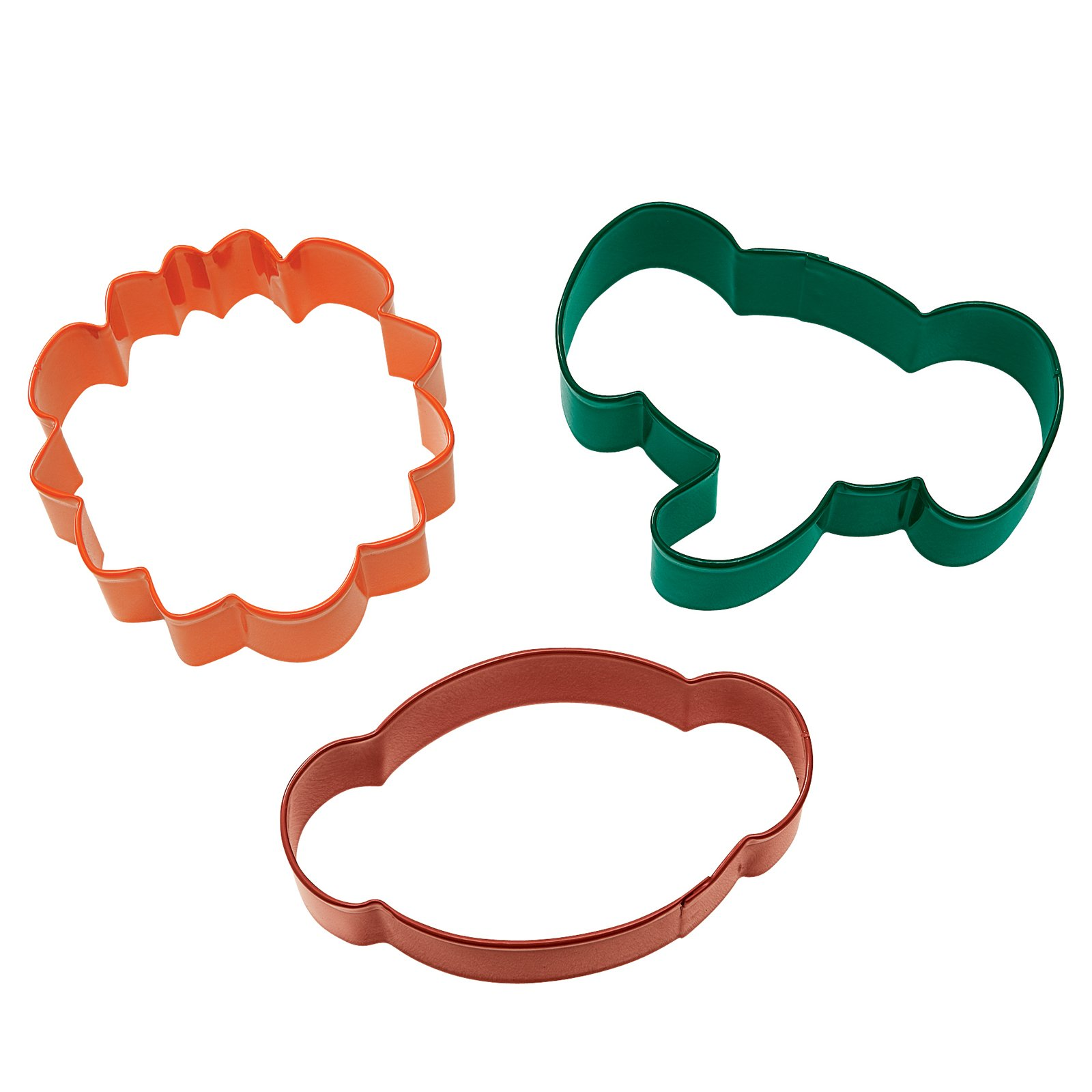 Jungle Pals Cookie Cutter Set (set of 3)