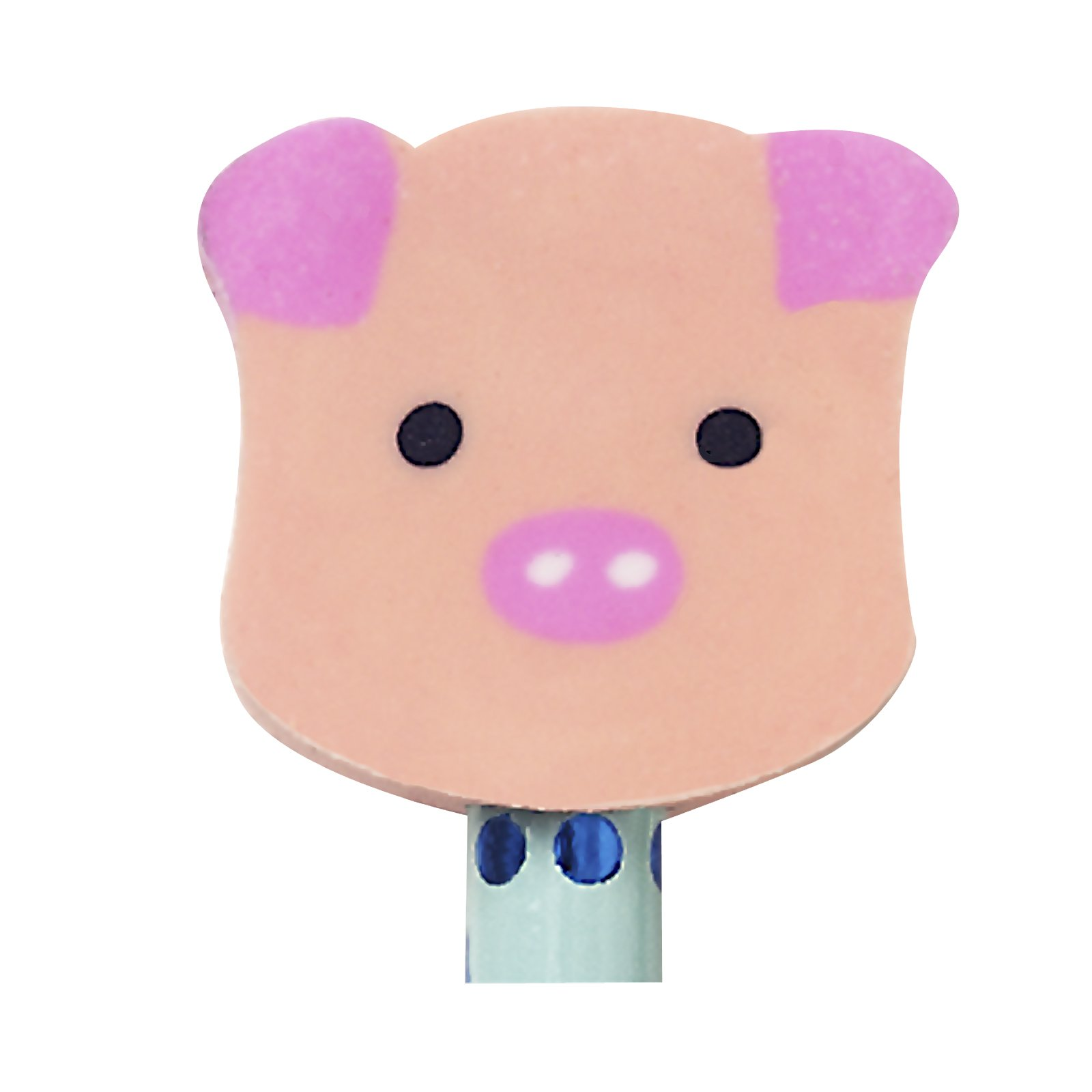 Pig Eraser Toppers (8 count)