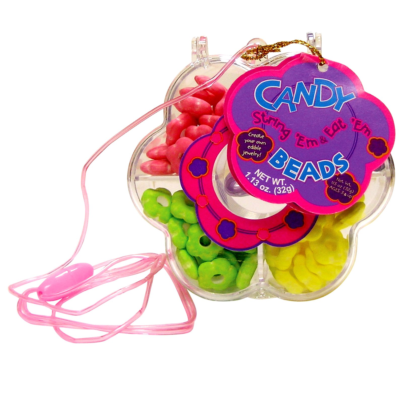 String 'Em and Eat 'Em Candy Beads (1 count)